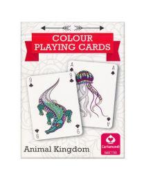 Colour Playing Cards Animal Kingdom