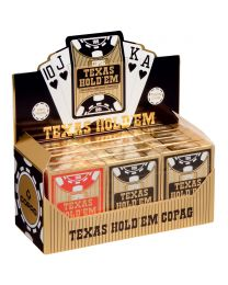 COPAG Brick of Cards Texas Holdem Plastic