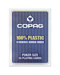 COPAG 100% plastic 4 hoeken index blauw
