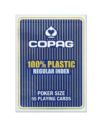 COPAG standaard index speelkaarten blauw