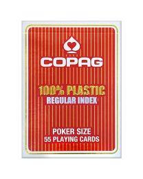 COPAG standaard index speelkaarten rood