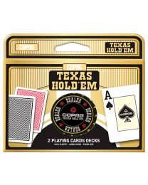 COPAG Texas Holdem speelkaarten en dealer button