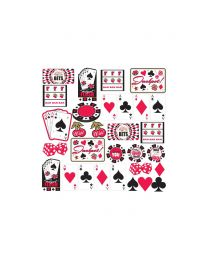 Karton decoraties Casino cutouts