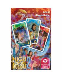 Disney High School Musical 2 speelkaarten Action Dance Game