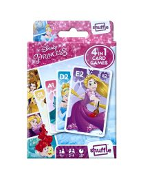 Disney Princess 4 in 1 kaartspelletjes