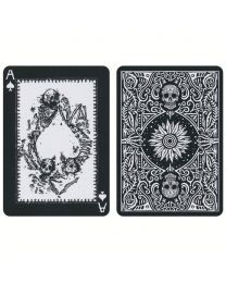 Disparos Black Playing Cards