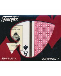 Fournier 2826 Bridge Size Jumbo Index Playing Cards