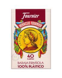 Fournier 40 kaarten Spaans deck 100% plastic