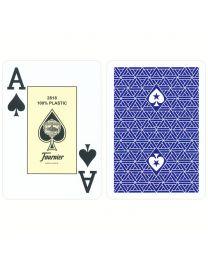 Fournier EPT professionele poker speelkaarten blauw