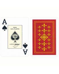 Fournier Flor de Lis Bridge Size Jumbo Index Speelkaarten