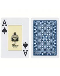 818 Poker Fournier speelkaarten blauw