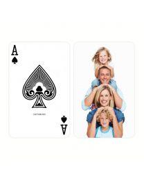 Custom speelkaarten bridge size