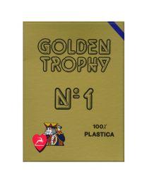 Golden Trophy Modiano kaarten blauw