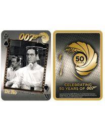James Bond kaarten 50 jaar goud