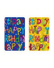 Verjaardagskaarten Happy Birthday Piatnik