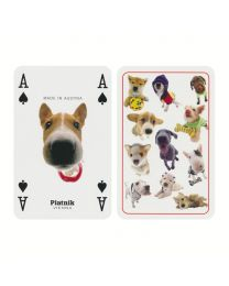 Honden speelkaarten Piatnik Hana Deka Club