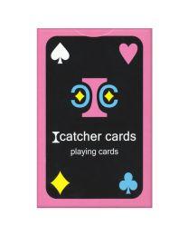 Icatcher speelkaarten roze