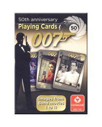James Bond kaarten 50 jaar