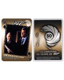 James Bond zilveren kaarten