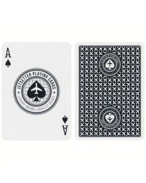 Jetsetter Playing Cards Premier Edition in Jet Black (Private Reserve)