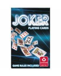 Joker Playing Cards Cartamundi blauw