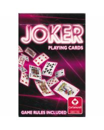 Joker Playing Cards Cartamundi rood