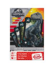 Jurassic World Crazy Eights kaartspel