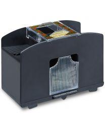 Kaartenschudmachine voor 4 decks