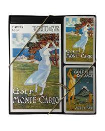 Ladies Golf Bridge kaartenset Piatnik