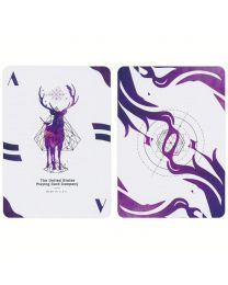Lost Deer Purple Edition Playing Cards