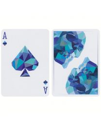 Memento Mori Playing Cards Blue