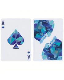 Memento Mori Playing Cards Blue
