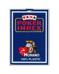 Modiano kaarten poker index blauw