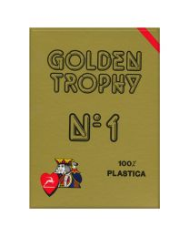 Golden Trophy Modiano kaarten rood