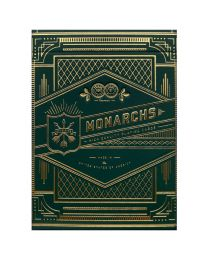 Green Monarch playing cards