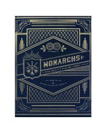 Blue Monarchs Playing Cards