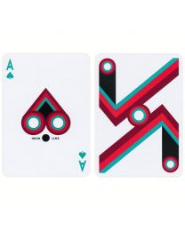 Neon Line Playing Cards