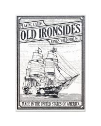 Playing Cards Old Ironsides by Kings Wild Project