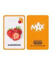Omroep MAX speelkaarten het boodschappenspel