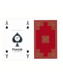 Piatnik bridge playing cards president