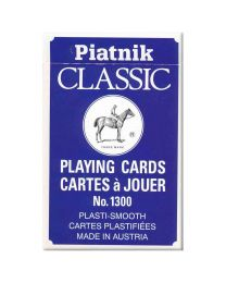 Piatnik Classic playing cards blauw