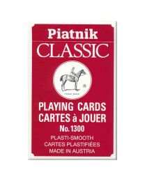 Piatnik Classic playing cards rood