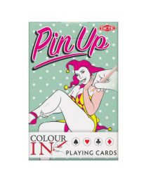 Pin Up Colour In Playing Cards