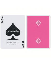 Pink Madison Rounders Playing Cards