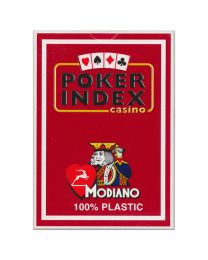 Modiano kaarten poker index rood