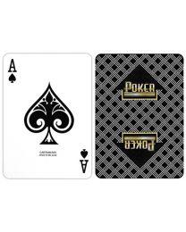 Poker Playing Cards Carta Mundi Black