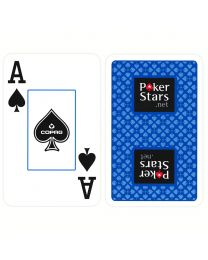 COPAG Plastic Speelkaarten PokerStars Blauw