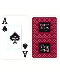 COPAG Plastic Speelkaarten PokerStars Rood