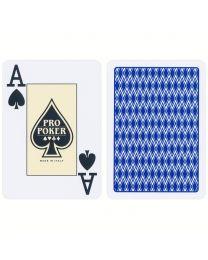 Plastic Speelkaarten Pro Poker Blauw