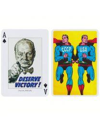 Propaganda speelkaarten Piatnik